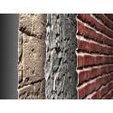 Panneaux décoratifs fausses pierres